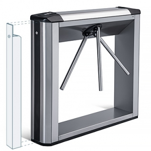 TBC-01A Box Tripod Turnstile with 2 built-in readers and a card capture function