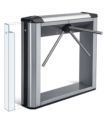 TBC-01.1 Box Tripod Turnstile with 2 built-in readers and a card capture function
